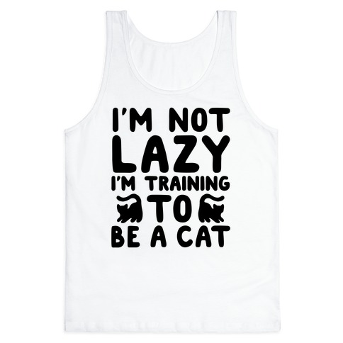 Training To Be a Cat Tank Top