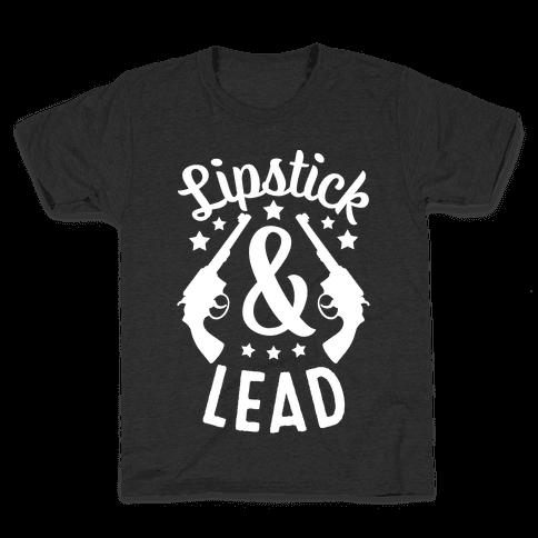Lipstick & Lead Kids T-Shirt