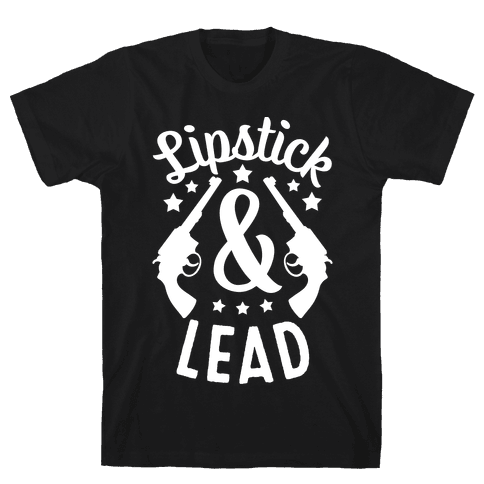Lipstick & Lead Mens T-Shirt