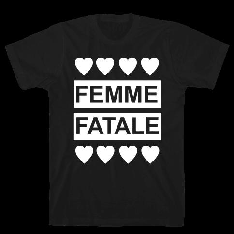 Femme Fatale Mens T-Shirt