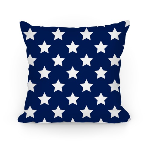 Stars Pattern Pillow