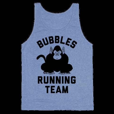Bubbles Running Team Tank Top