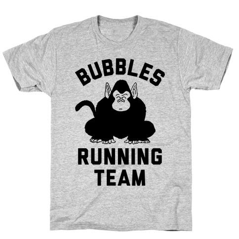 Bubbles Running Team T-Shirt