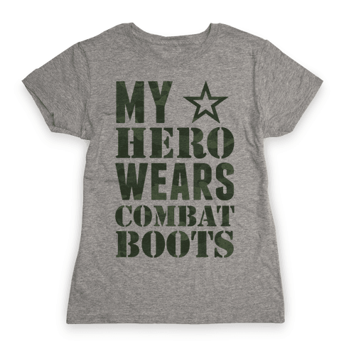 My Hero Womens T-Shirt