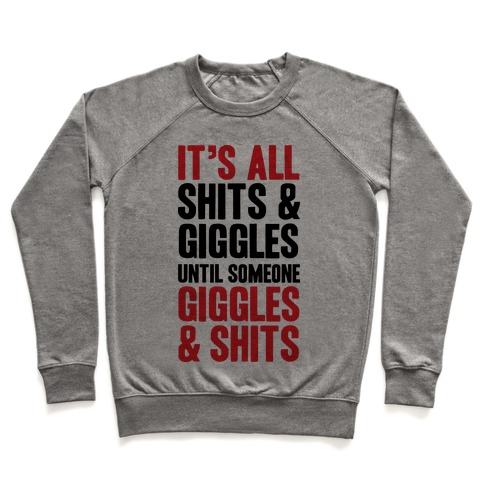 Giggles & Shits Pullover