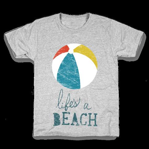 Life's a Beach Kids T-Shirt