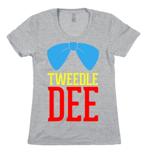 Tweedle Dee Womens T-Shirt