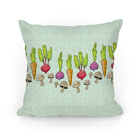 Retro Vegetable Pattern