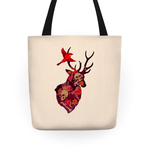 The Shrike & The Stag Tote