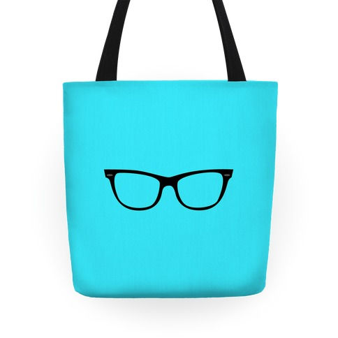 Blue Large Glasses Tote