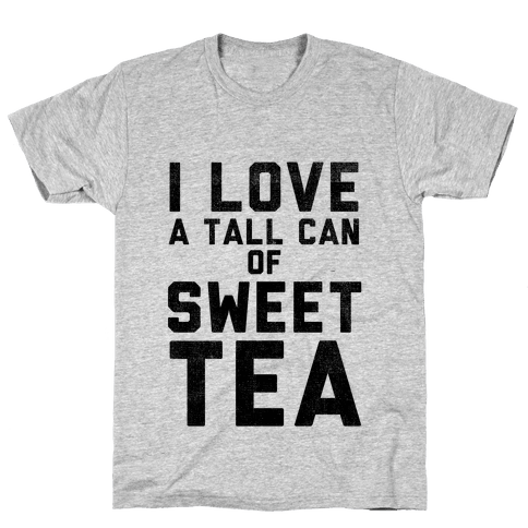 I Love Sweet Tea Mens T-Shirt