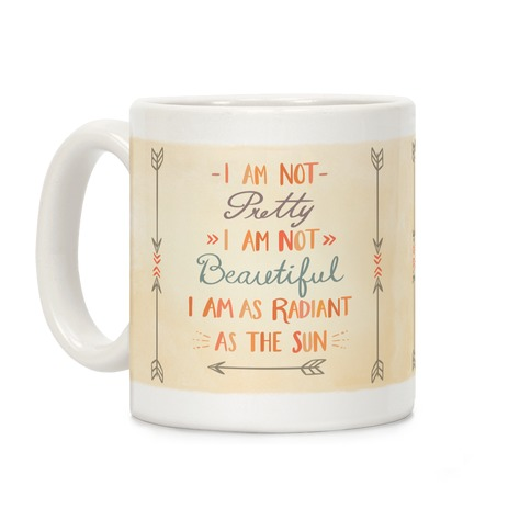 Radiant as the Sun Coffee Mug