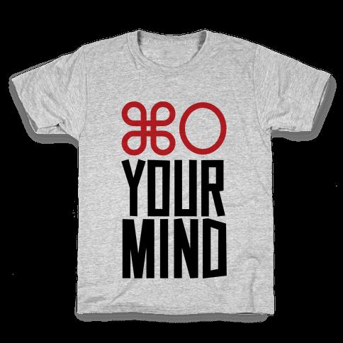 Open Your Mind Tank Kids T-Shirt
