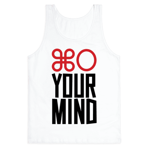 Open Your Mind Tank Tank Top