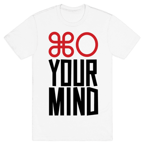 Open Your Mind Tank Mens T-Shirt