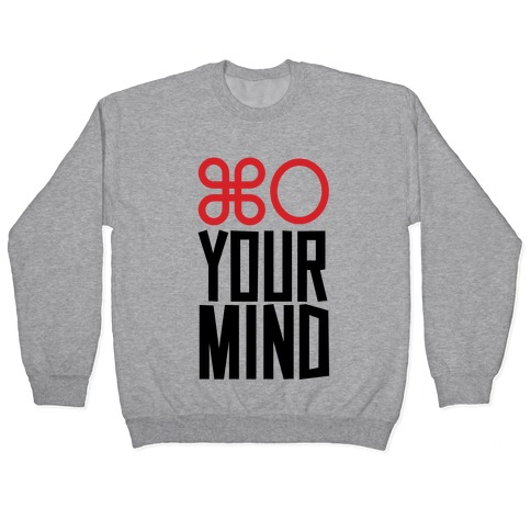 Open Your Mind Tank Pullover