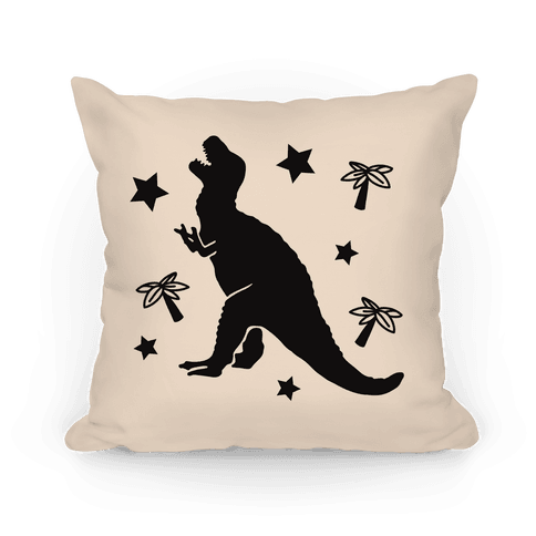 Curse Your Sudden But Inevitable Betrayal (Rex) Pillow