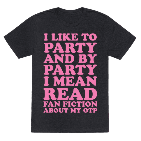I Like to Read Fan Fiction