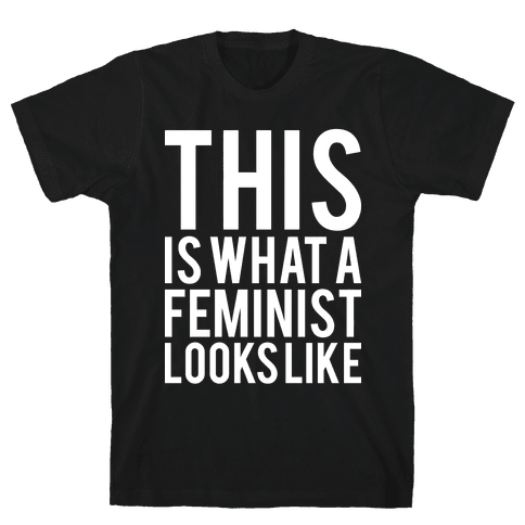 This Is What A Feminist Looks Like Mens T-Shirt