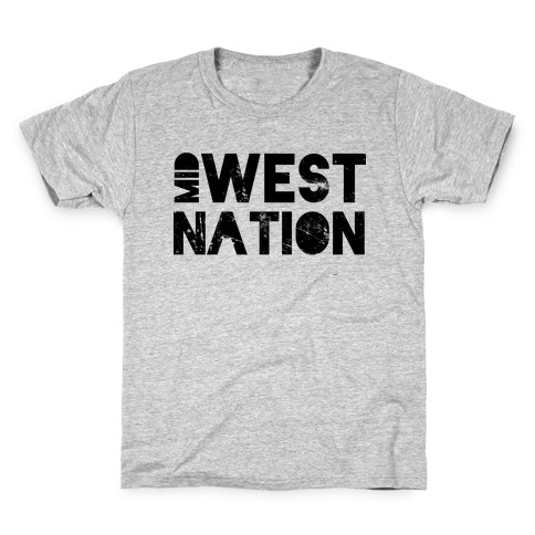 Mid West Nation Kids T-Shirt