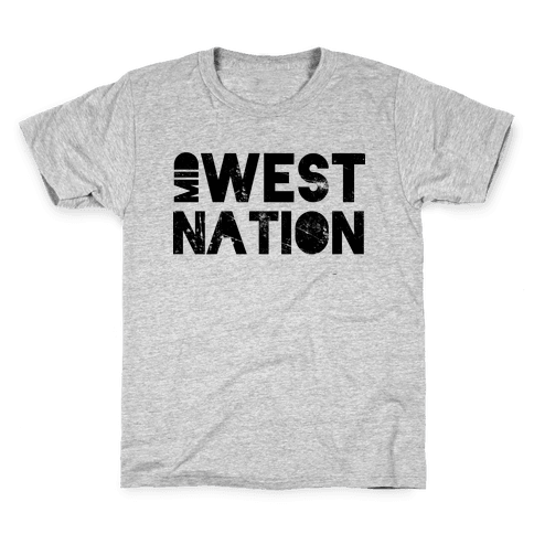 Mid West Nation Kids T-Shirt
