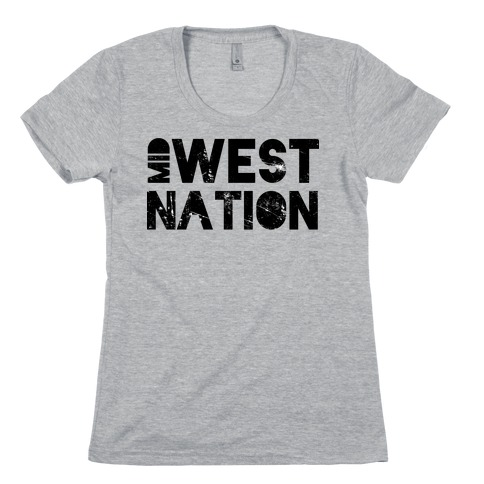 Mid West Nation Womens T-Shirt