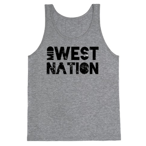Mid West Nation Tank Top