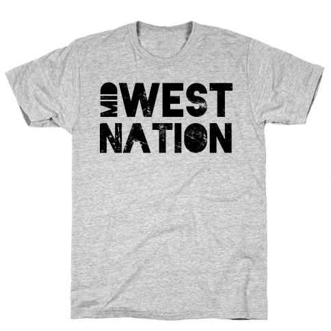 Mid West Nation Mens T-Shirt