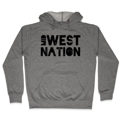 Mid West Nation Hooded Sweatshirt