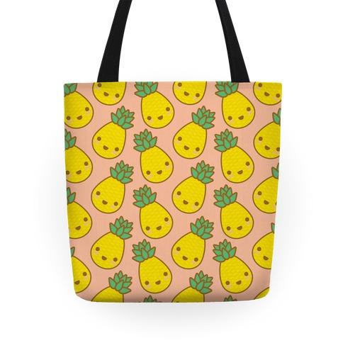 Kawaii Pineapple Tote