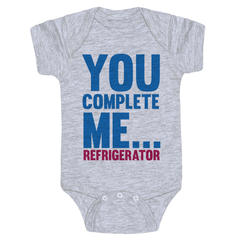 You Complete Me... Baby Onesy