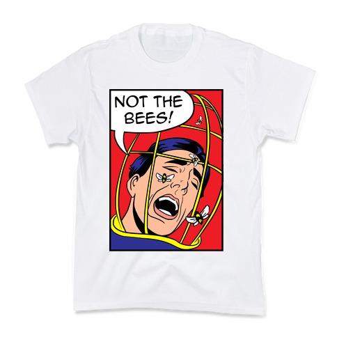 Nicholas Cage: Lichtenstein Edition Parody Kids T-Shirt