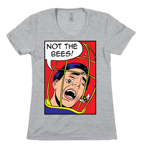 Nicholas Cage: Lichtenstein Edition Parody Womens T-Shirt