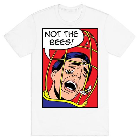 Nicholas Cage: Lichtenstein Edition Parody Mens T-Shirt