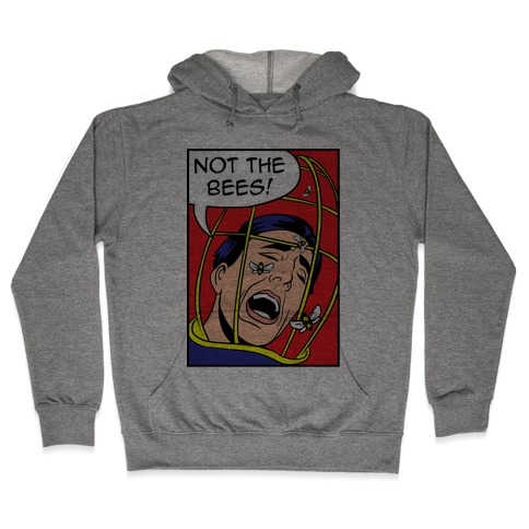 Nicholas Cage: Lichtenstein Edition Parody Hooded Sweatshirt
