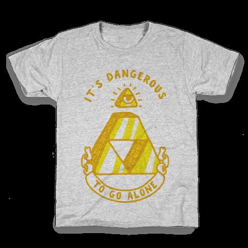 Illuminati Triforce Kids T-Shirt