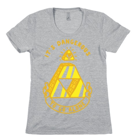 Illuminati Triforce Womens T-Shirt