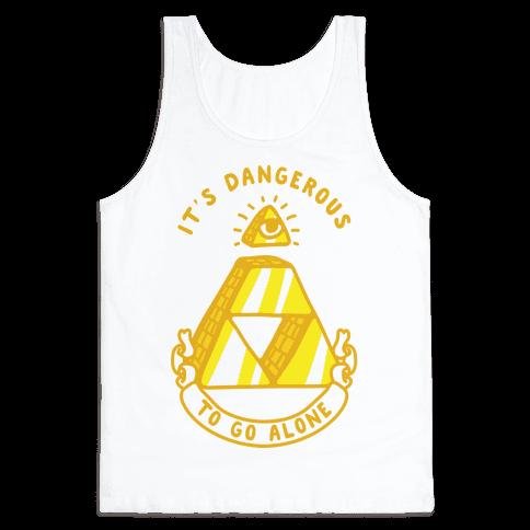 Illuminati Triforce Tank Top