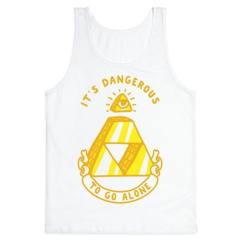 Illuminati Triforce Tank Top
