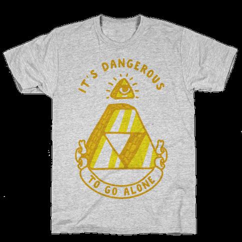 Illuminati Triforce Mens T-Shirt