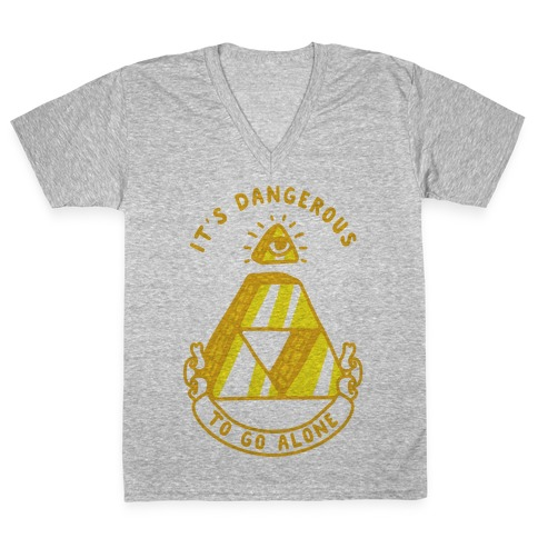 Illuminati Triforce V-Neck Tee Shirt
