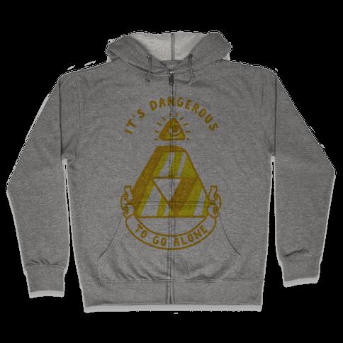 Illuminati Triforce Zip Hoodie