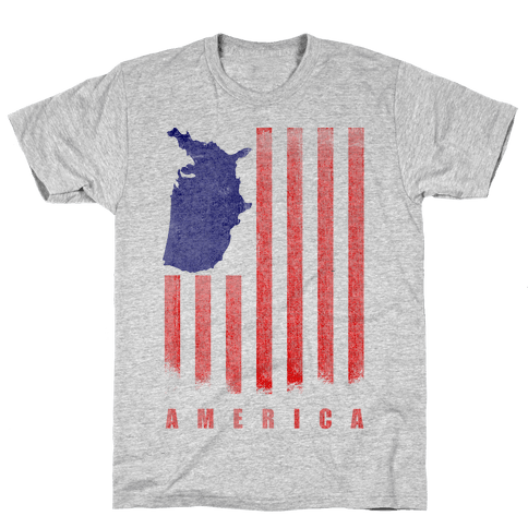 American Flag Mens T-Shirt