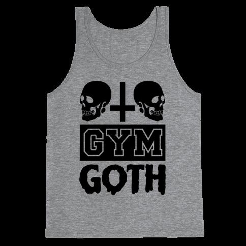 Gym Goth Tank Top