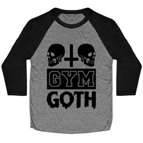 Gym Goth Baseball Tee