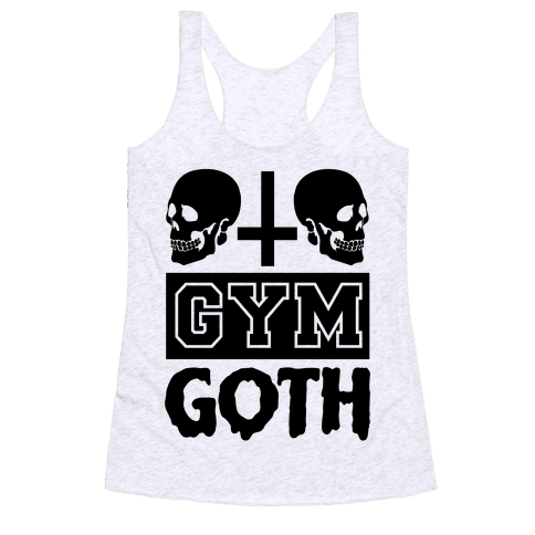 Gym Goth Racerback Tank Top