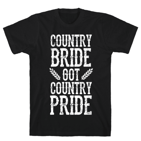 Country Bride Mens T-Shirt