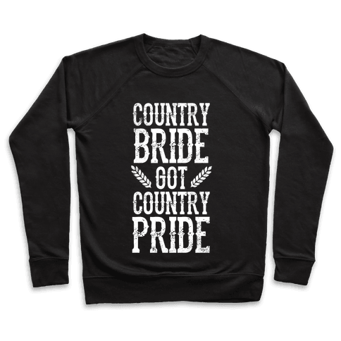 Country Bride Pullover
