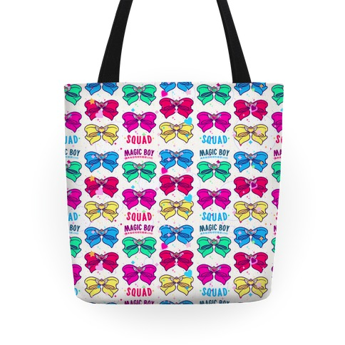 Magic Boy Anime Bows Tote
