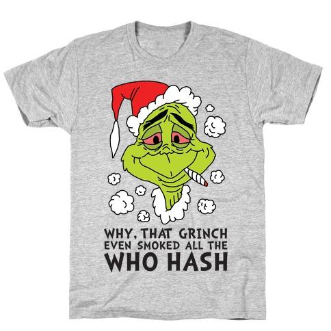 Who Hash T-Shirt